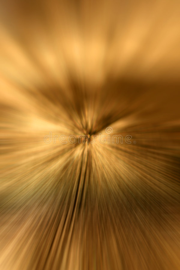 Gold zoom abstract background royalty free stock photo