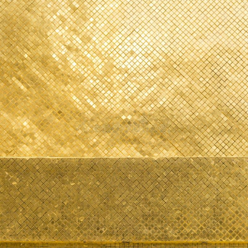 Goldbeschaffenheit und -hintergrund stockfoto