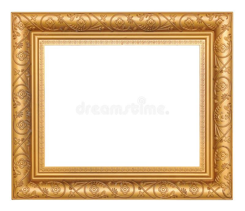 Goldbilderrahmen lizenzfreie stockbilder