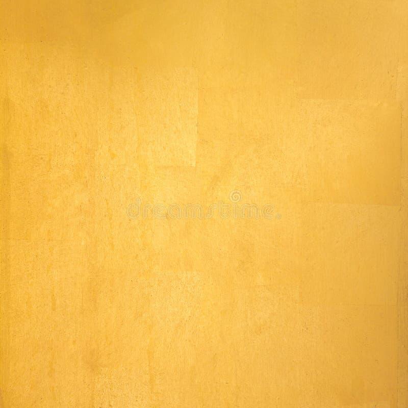 Goldblatt stockfoto