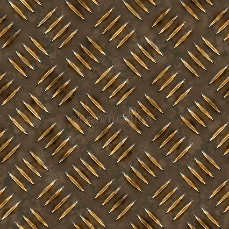 Golddiamant-Platte vektor abbildung