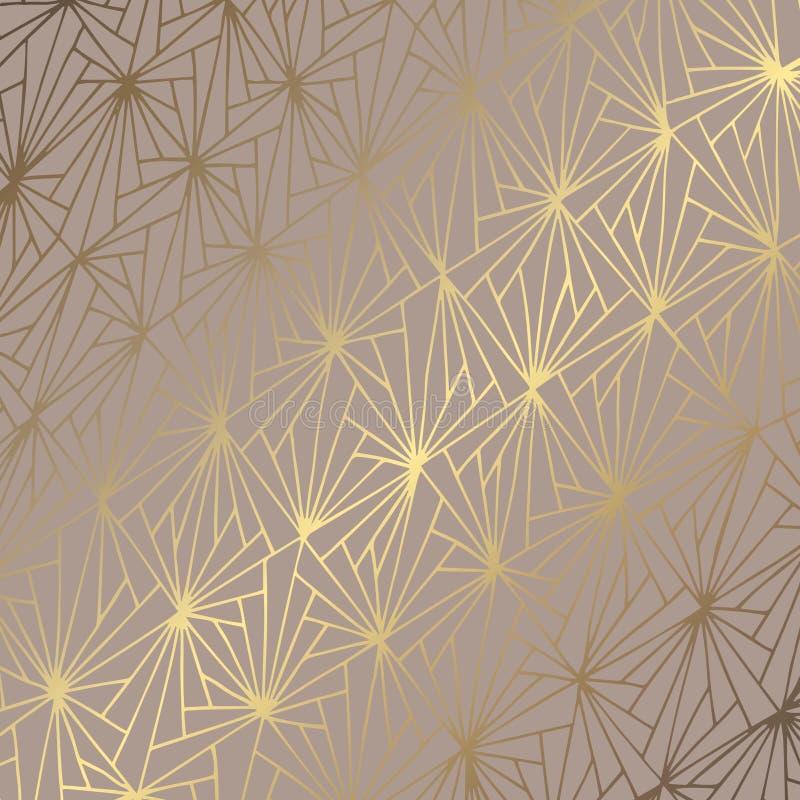 Golden abstract. Elegant decorative background. Vector pattern for the design vector illustration