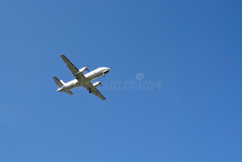 Golden Air flygplan royaltyfri bild