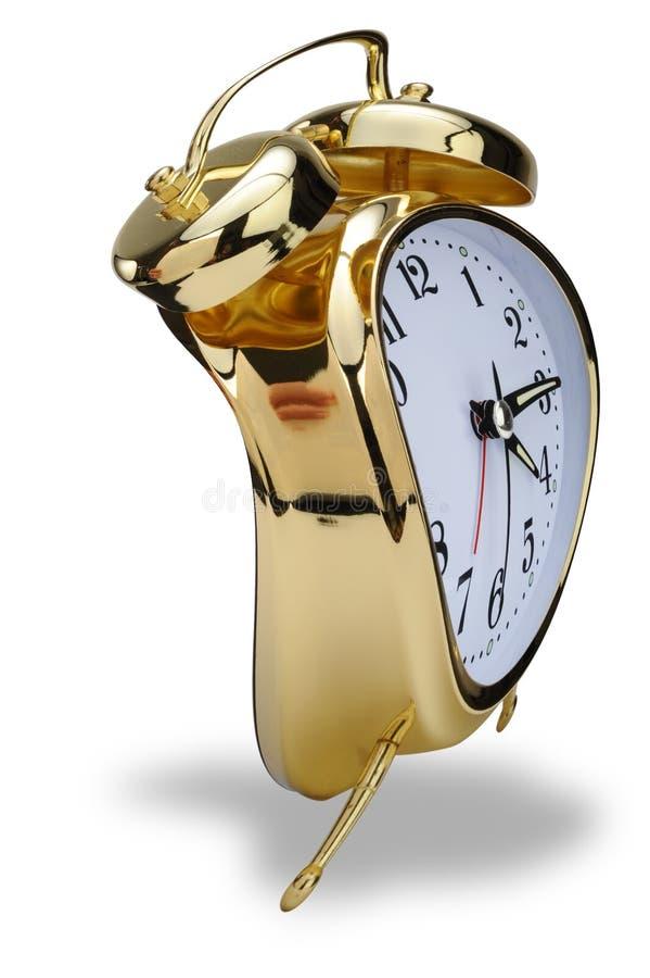Download Golden Alarm Clock Stock Image - Image: 16257941