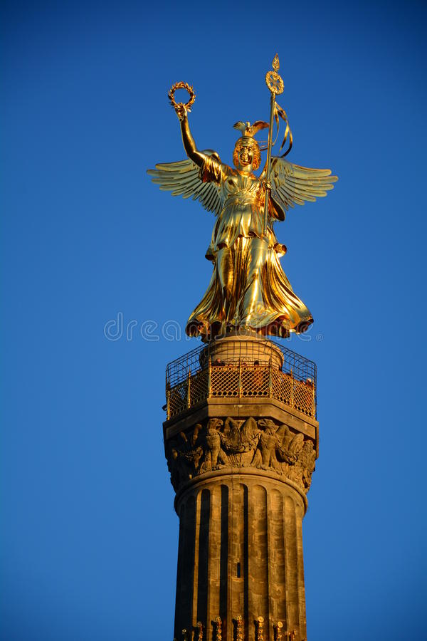 Free Golden Angel Berlin Royalty Free Stock Photos - 36502808