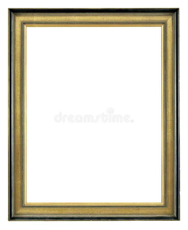 Download Golden Antique Frame stock image. Image of exhibition - 20971061