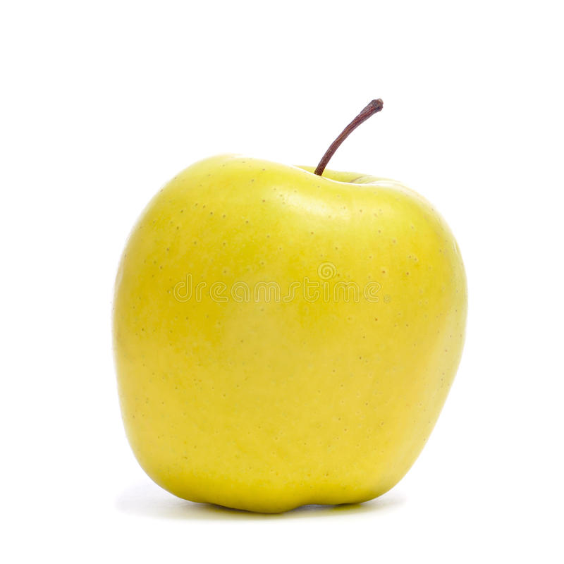 Golden Apple Royalty Free Stock Image