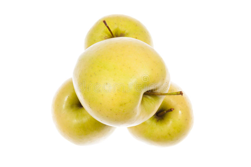 Golden Apples Royalty Free Stock Images