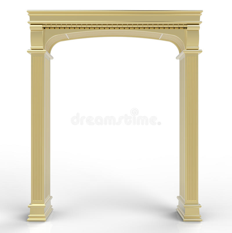 Golden Arch Stock Photography