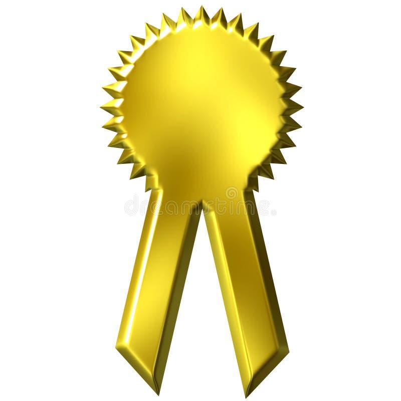 Golden Award Ribbon