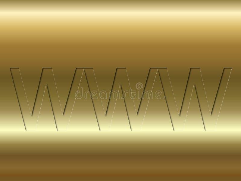 Download Golden background stock illustration. Illustration of computer - 160255