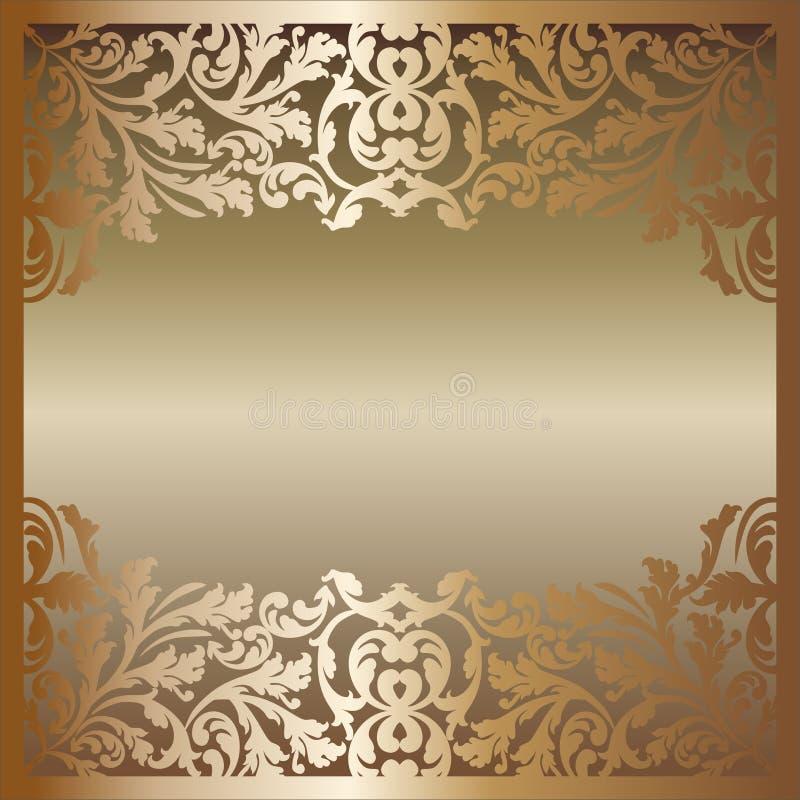 Download Golden background stock vector. Image of brushed, design - 22469995