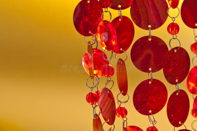 Download Golden Background With Sequin Garland Stock Photo - Image: 22772194