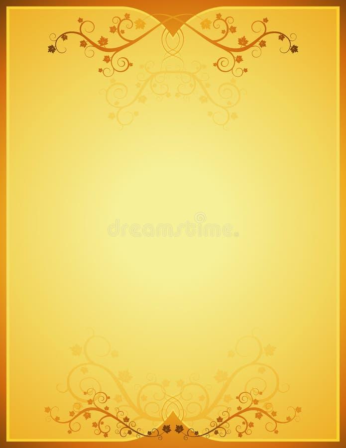 Golden Background, Vetor Stock Photos