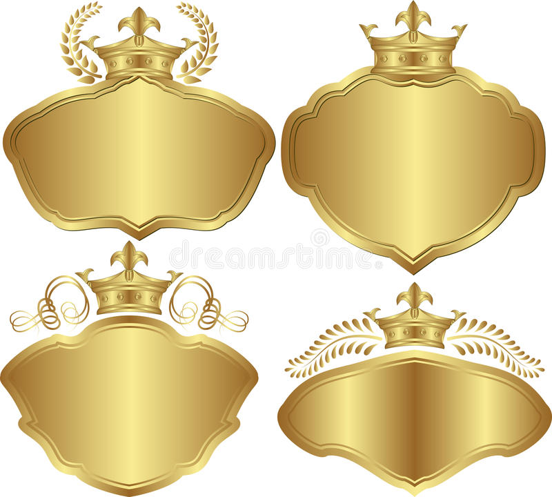 Download Golden backgrounds stock vector. Image of decoration - 32190376