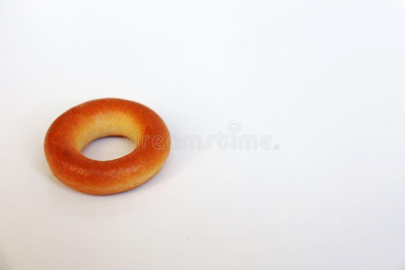 Golden bagel stock fotografie