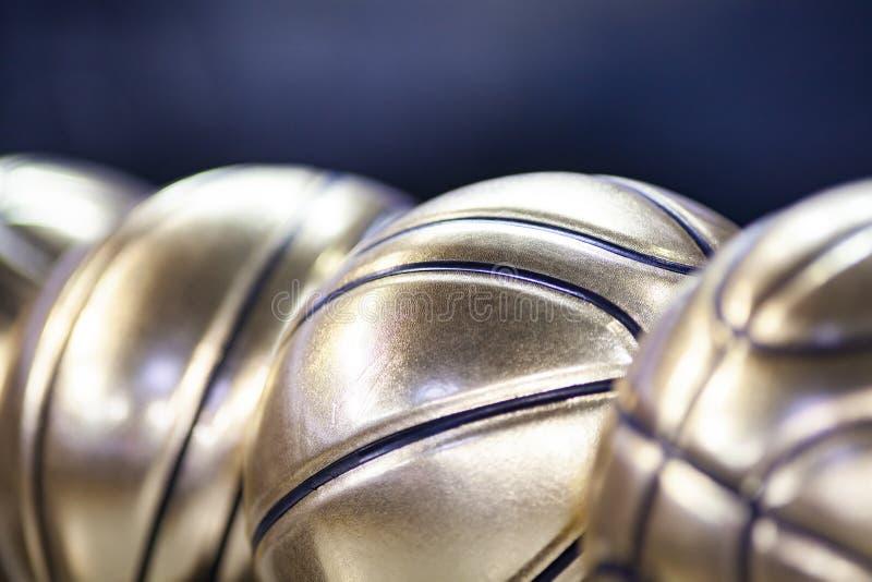 golden basketball ball royalty free stock photos