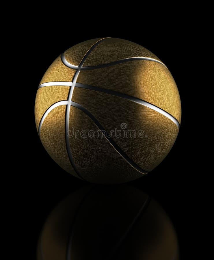 Golden Basketball stock photos