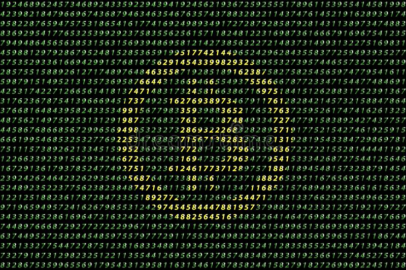 Golden bitcoin digital currency on data background, futuristic digital money, technology worldwide network concept. royalty free stock image
