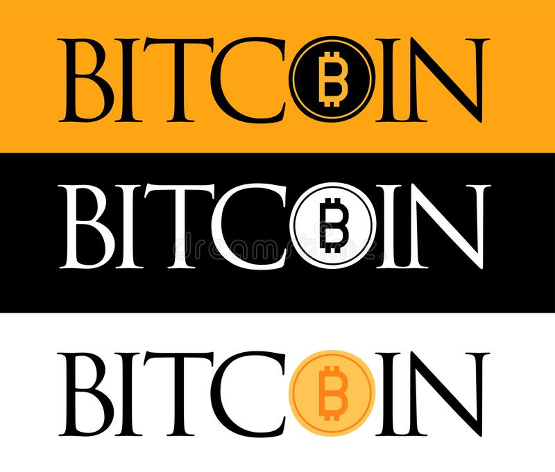 Golden Bitcoin icon isolated on golden, white and black background vector illustration