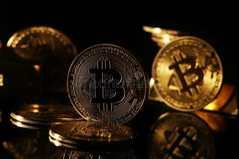 Golden Bitcoin Coin JPG set