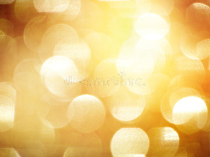 Download Golden blurry lights stock illustration. Illustration of motion - 22108788