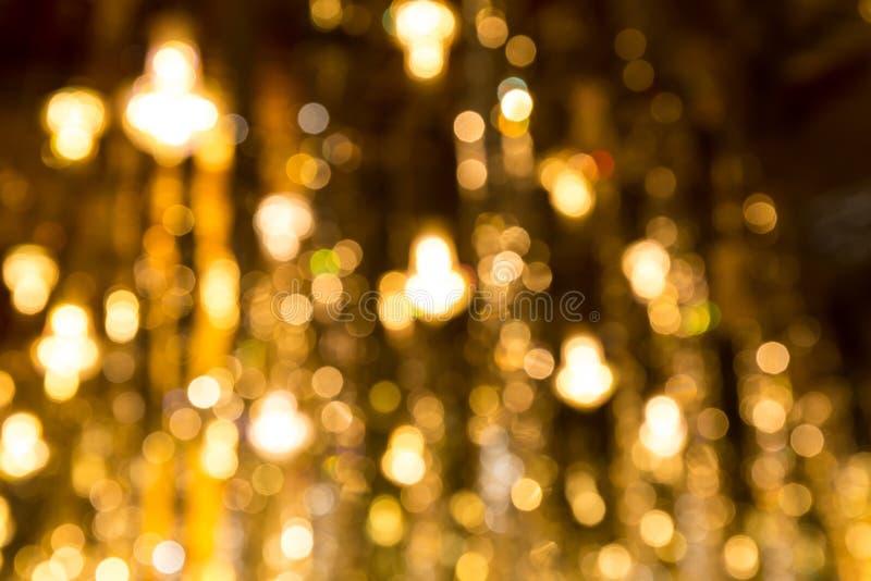 Golden bokeh stock images