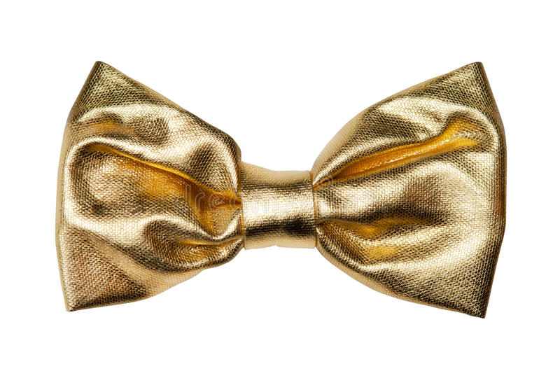 Download Golden bow stock photo. Image of color, decor, gold, beauty - 28520426