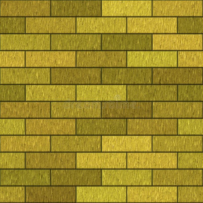 Download Golden bricks stock illustration. Image of endless, many - 7096622