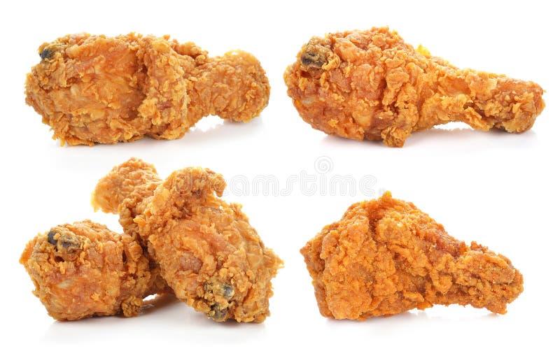 Golden brown fried chicken drumsticks royalty free stock photos
