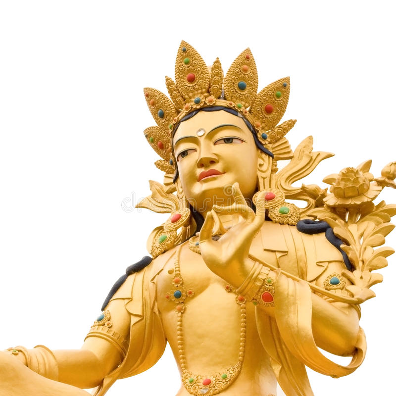 Golden Buddah stock photography