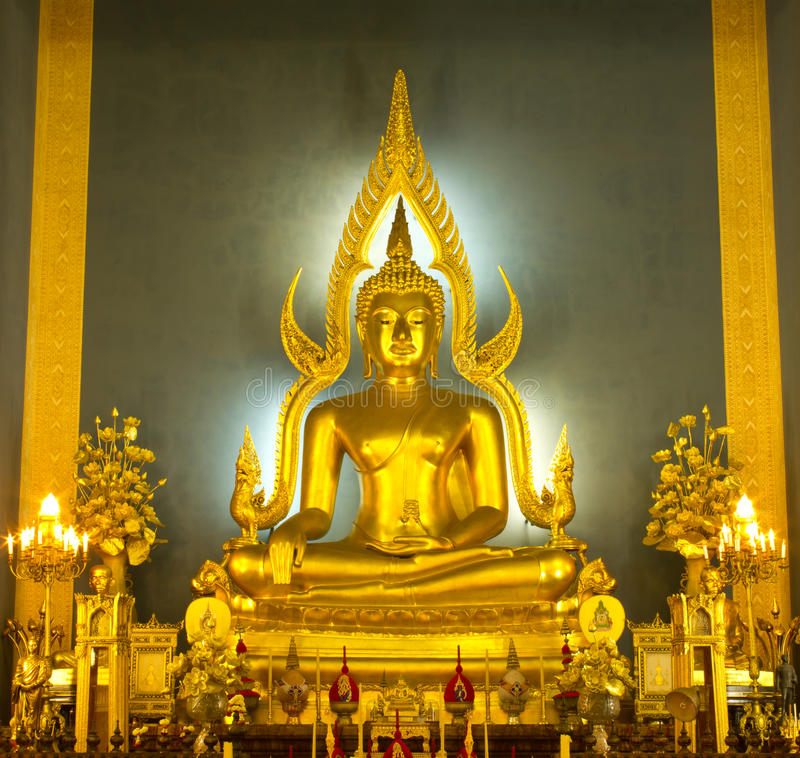Download Golden buddha stock photo. Image of sculpture, peace - 20707896