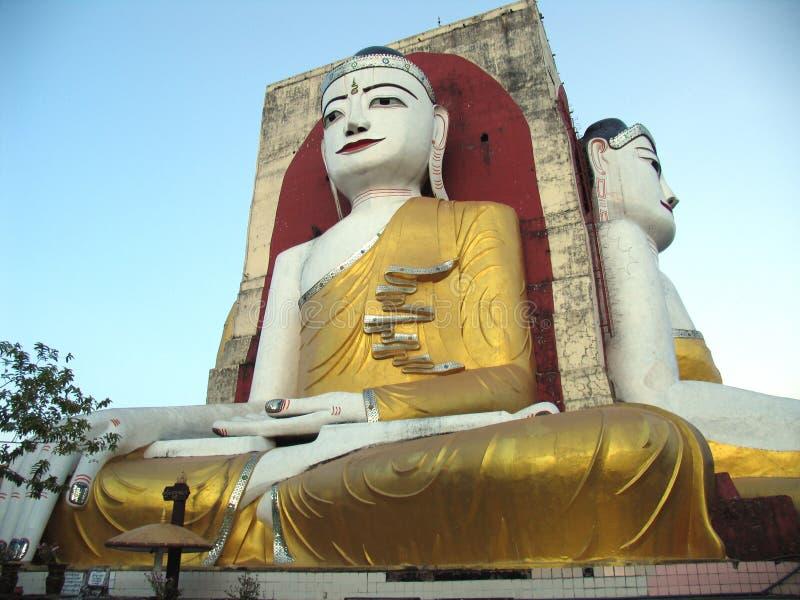 Golden Buddha Royalty Free Stock Photos