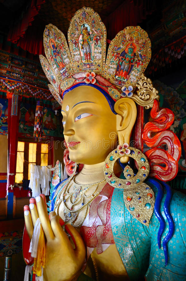 Download Golden Buddha stock photo. Image of up, buddhism, monastery - 27041226