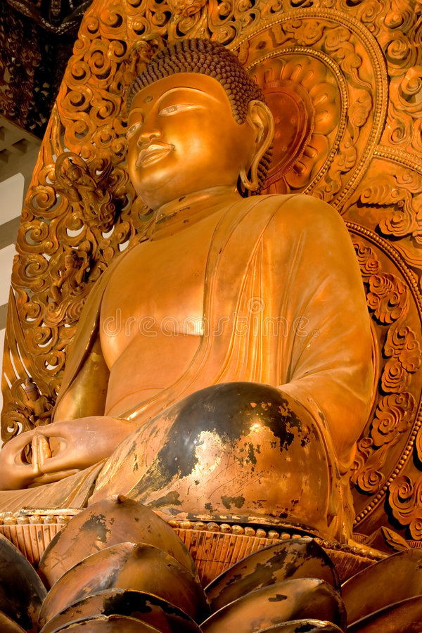 Download Golden Buddha 4, Byodo-In Temple Stock Photos - Image: 550803