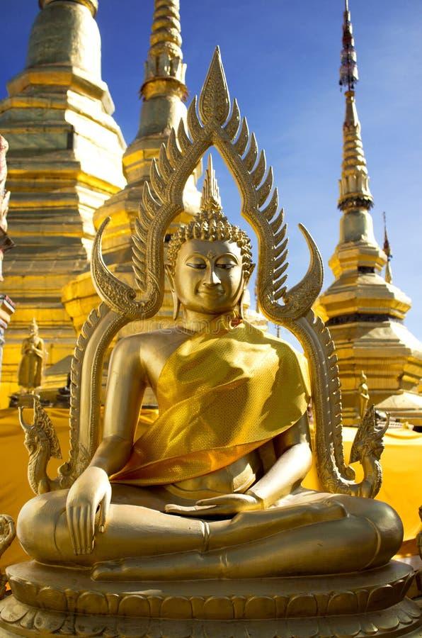 Download Golden buddha statue stock image. Image of calm, buddhist - 26394439