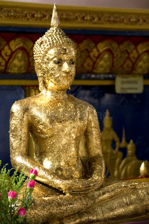 Download Golden Buddha Statue stock image. Image of religion, asia - 7506651