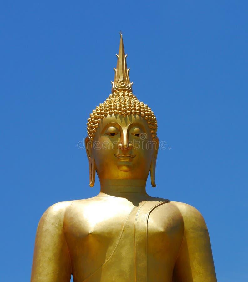 Download Golden Buddha statue stock photo. Image of head, buddhist - 31292564
