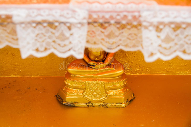 Download Golden Buddha Statue In Bodhgaya Stupa Or Phuthakaya Pagoda At S Stock Photo - Image: 83703795