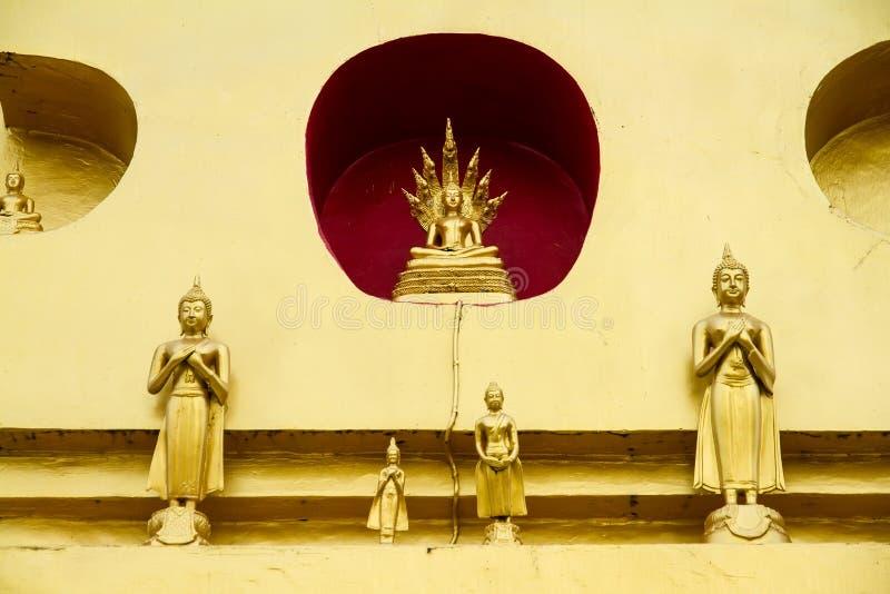 Download Golden Buddha Statue In Bodhgaya Stupa Or Phuthakaya Pagoda At S Stock Photo - Image: 83703970