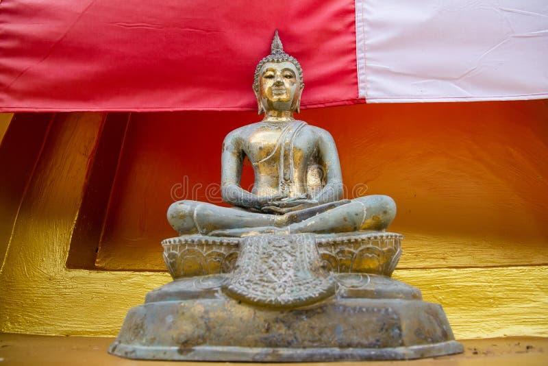 Download Golden Buddha Statue In Bodhgaya Stupa Or Phuthakaya Pagoda At S Stock Image - Image: 83704263