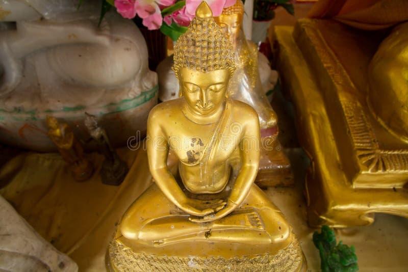 Download Golden Buddha Statue In Bodhgaya Stupa Or Phuthakaya Pagoda At S Stock Photo - Image: 83704538