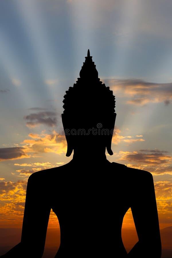 Download Golden Buddha statue stock photo. Image of pray, scenic - 37008042