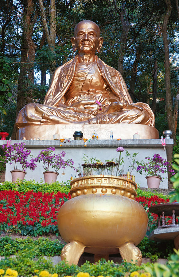 Download Golden Buddha Statue In Thailand Stock Photo - Image: 25569996
