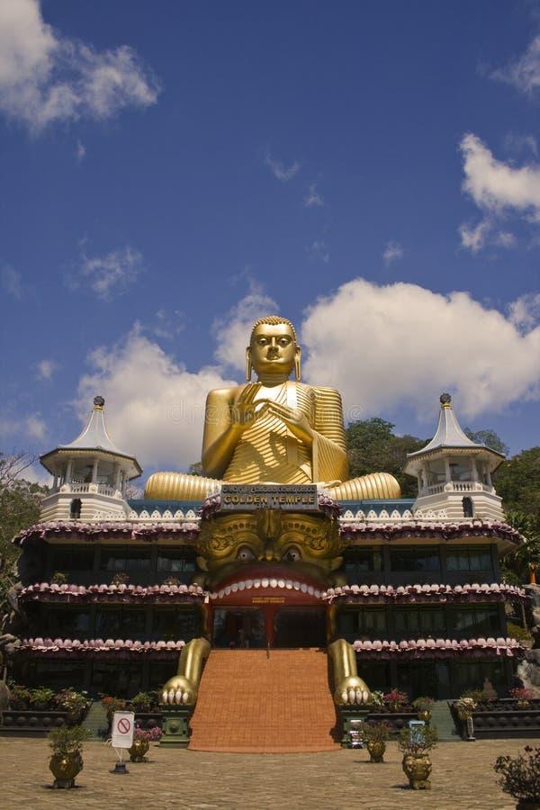 Free Golden Buddha Temple Entrance, Dambulla, Sri Lanka Royalty Free Stock Photos - 10960478