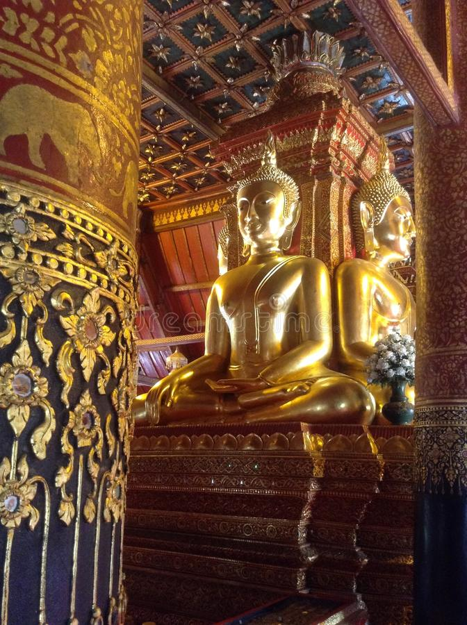 The Golden Buddha royalty free stock photo