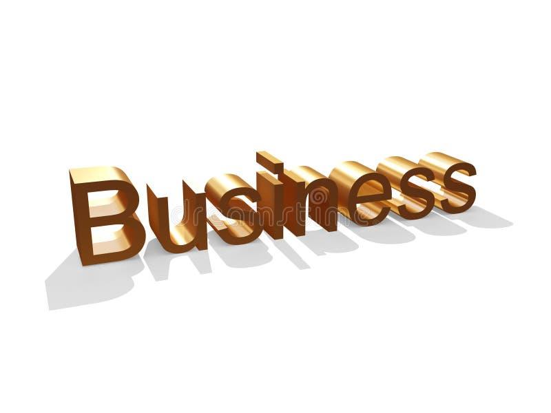 Download Golden Business stock illustration. Illustration of business - 312695