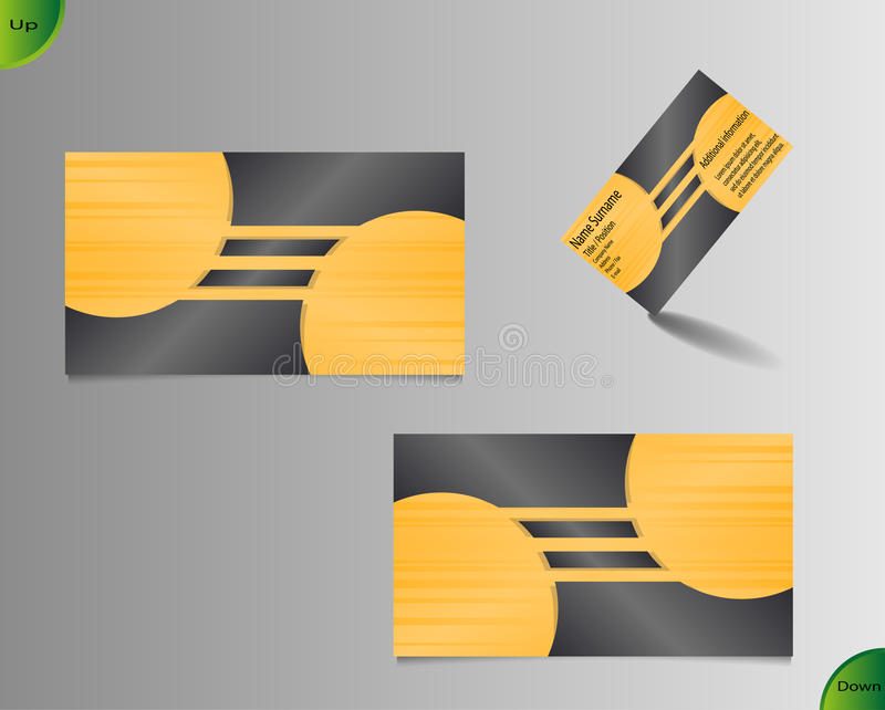Golden business card layout stock vector illustration of download golden business card layout stock vector illustration of invitation glossy 48787183 reheart Images