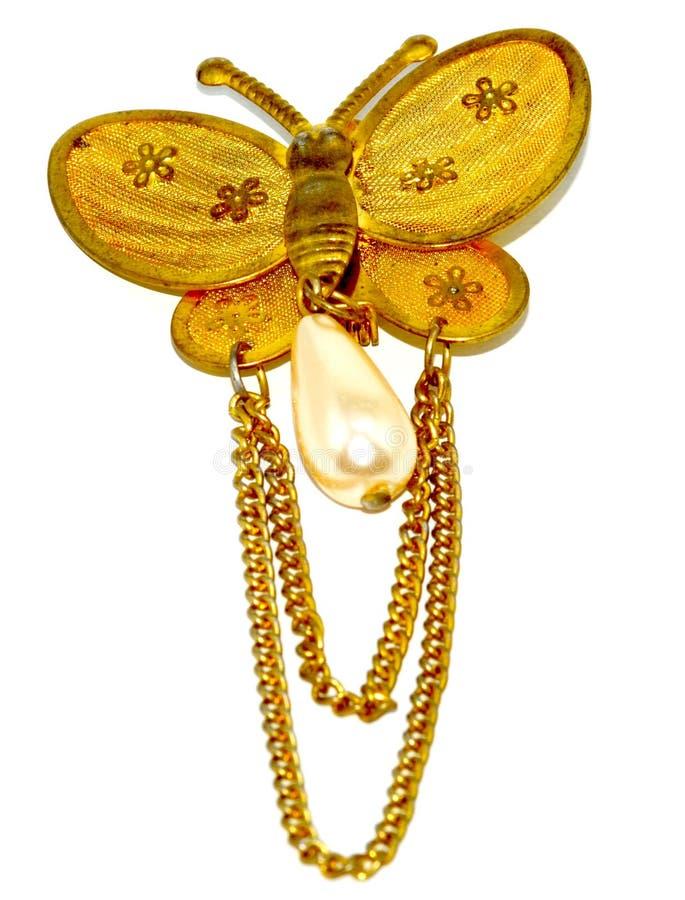 Free Golden Butterfly Stock Photos - 51724173