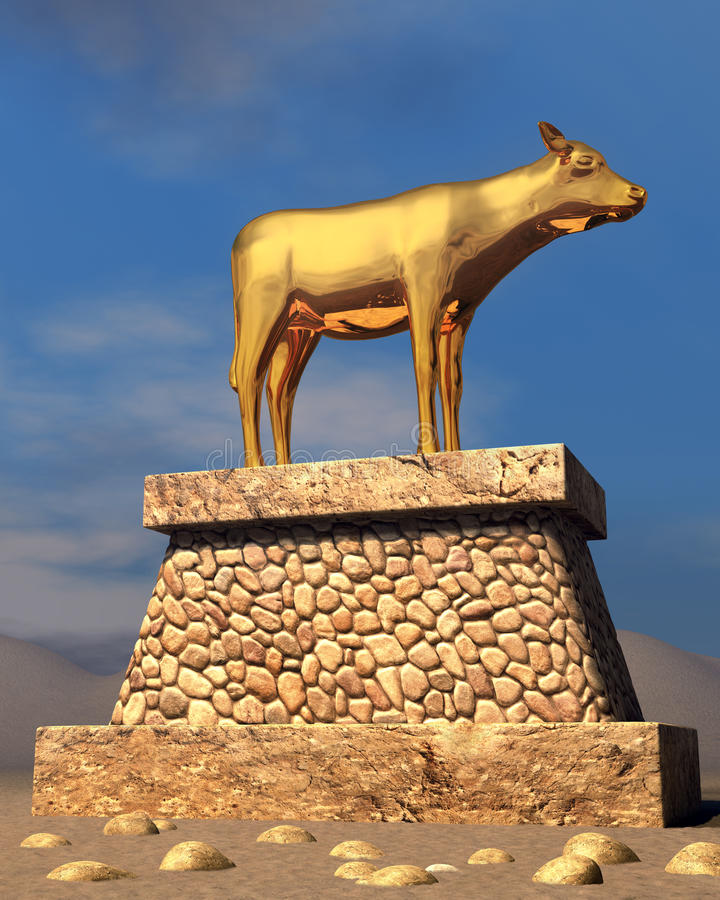 Image result for golden calf copyright free images